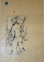 ebelingkoning-k-aherman met ladder